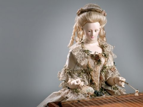David Roentgen's Automaton of Queen Marie Antoinette, The Dulcimer Player (La Joueuse de Tympanon)