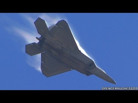 Airshow - Marine Corps Air Station Miramar Air Show Miramar, CA (San Diego) Friday October 12th, 2012 In this video: Air Combat Command F-22 Raptor Demonstration Team,...