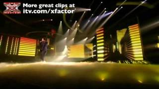 Matt Cardle sings Goodbye Yellow Brick Road - The X Factor Live show 6 - itv.com/xfactor