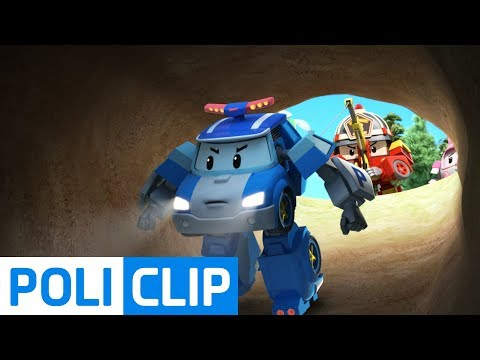 Be careful not to roll! | Robocar Poli Rescue Clips