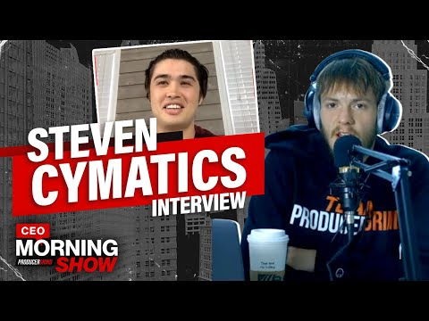 Steven Cymatics Talks How To Focus On Being The Producer You Are Meant to Be | CEO Morning Show