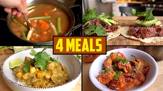 4 Ingredient Meals To Survive Winter by Brothers Green Eats