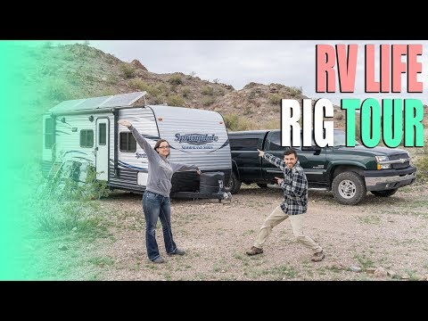 RV Living Tour - Keystone Springdale 2020QB Tiny Home on Wheels - Full Time RV
