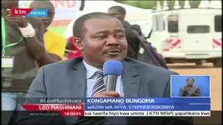 Leo Mashinani: Kongamano ya Bungoma; Waziri wa Afya bunge la kaunti ya Bungoma, Part 1