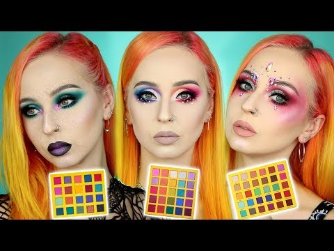 Je Teste 3 Palettes RAINBOW (OPV, September Rose, Rude Cosmetics) | BATTLE