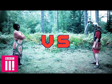 Ghanaian Mother VS  Roman Soldier: Ultimate Deadly Warrior | Famalam