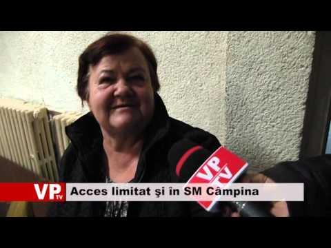 Acces limitat şi în SM Câmpina