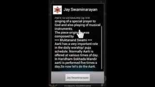 Swami Narayan Aarti YouTube video