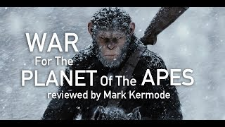 Mark Kermode reviews War For The Planet Of The Apes. A tragic event sets Caesar and the apes on the warpath with mankind.Please tell us what you think of the film -- or Mark's review of the film – below. We love to include your views on the show every Friday.http://www.bbc.co.uk/5liveFridays at 2pm on BBC 5 live.