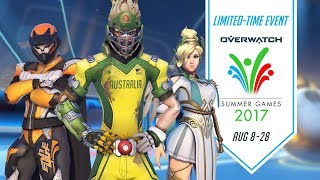 Hope you're having a ball in the 2017 Overwatch Summer Games