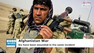 At least five Afghan policemen have been killed and another six have been wounded in a fierce battle with the Taliban militant ...