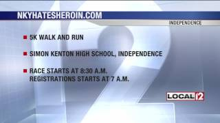 INDEPENDENCE, Ky. (WKRC) - A 5K in the fight against heroin was held Saturday morning. The race started at Simon Kenton ...