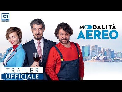 Preview Trailer Modalità Aereo, trailer ufficiale della commedia di Fausto Brizzi