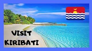 Landing in KIRIBATI (Tarawa Atoll, Gilbert Islands): Let's view the landing of a Boeing 737 in the Republic of Kiribati, in the central...