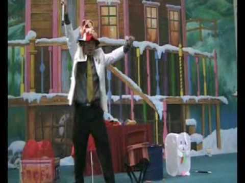 UNCLE FISHY the Clown & Magician   VIDEO 3 Stage Comedy Magic  Youtube