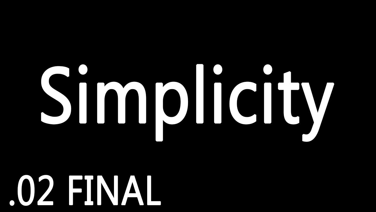 Final – SIMPLICITY – Ep 2