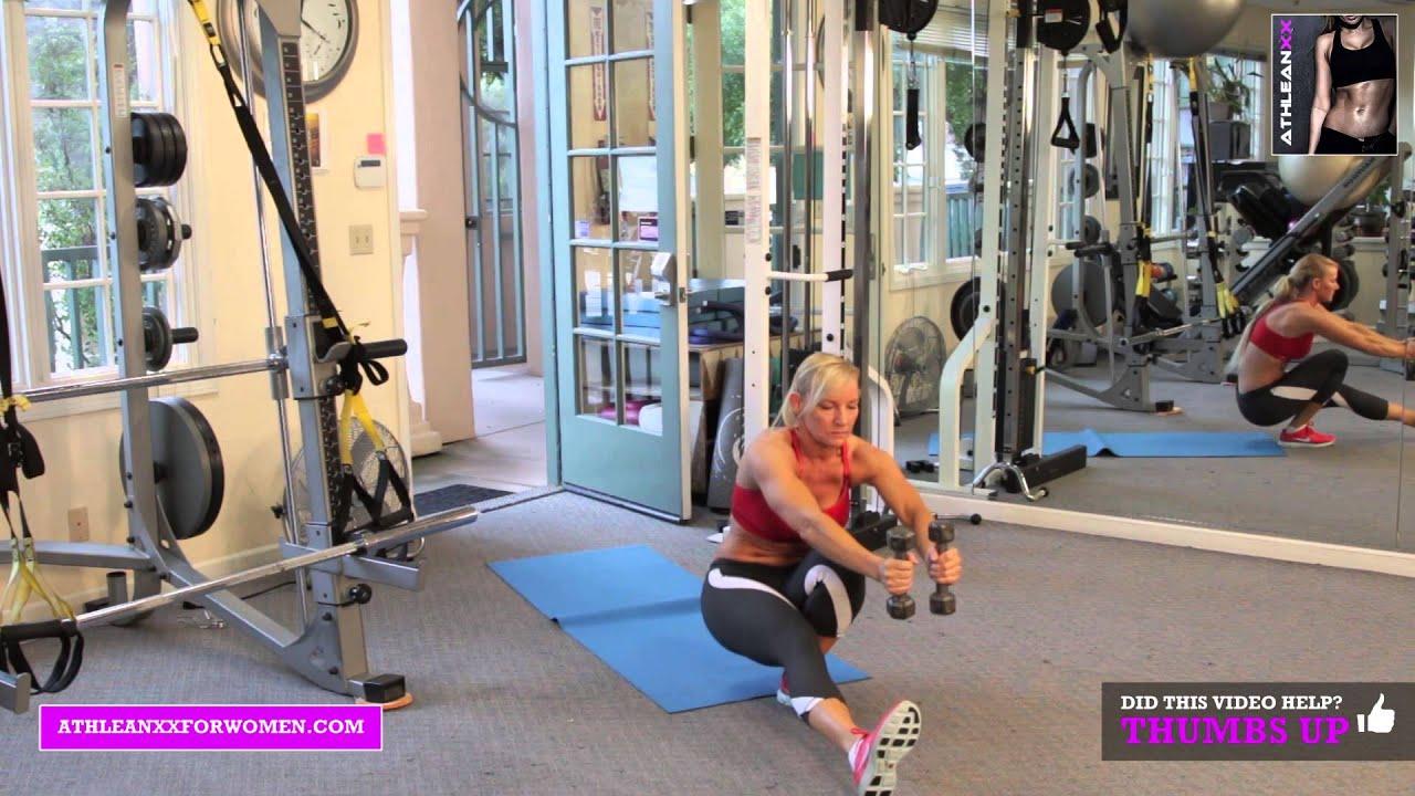 Advanced Leg Workout for Women (HARD WORKOUT – FIRM THIGHS!)