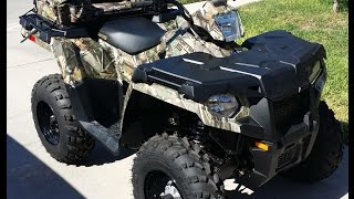 5. Polaris Sportsman 570 jump started