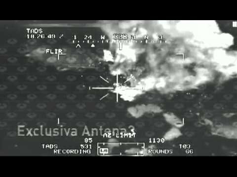 Ataque con Apache a un campamento talibán en Afganistan