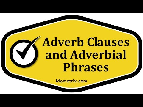 adjective and adverb prepositional phrases pdf
