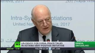New round of talks Syria Peace Talks kick off in Geneva
