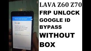 lava z60 frp unlock