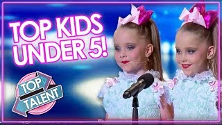 Video KID'S GOT TALENT | UNDER 5 Audition Including DJ Arch, Heavenly Joy & The Henry Twins | Top Talent MP3, 3GP, MP4, WEBM, AVI, FLV Desember 2018