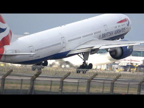 G-ZZZB.  BA 777.  The final flight for scrap. 29th August 2020. #retirement #aviation #AvGeek