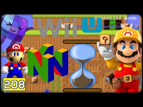 RETRO Level ~ Nintendo 64/Wii U #208 ⭐️ SUPER MARIO MAKER ONLINE Deutsch (видео)