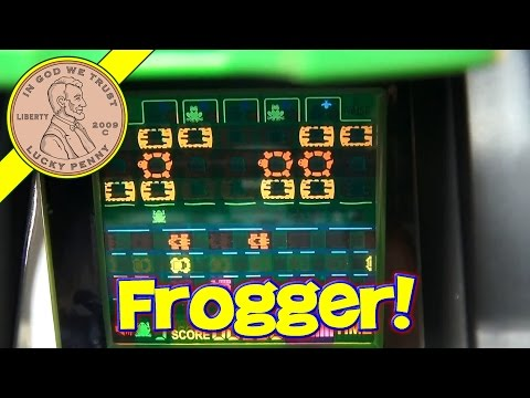 Frogger Handheld Video Game With Pop Up Screen, 2005 Excalibur Electronics