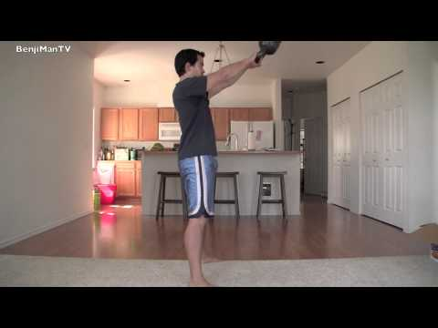 KettleBell Workout- Lose Weight or Gain Muscle QUICKLY!!! BenjiManTV