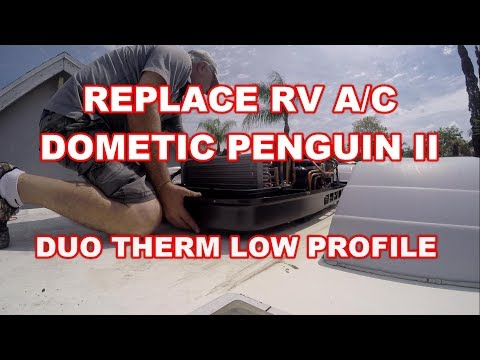 REPLACE RV AC DOMETIC PENGUIN II DUO THERM HEAT PUMP MOTORHOME -12 button to 5 button Conversion kit