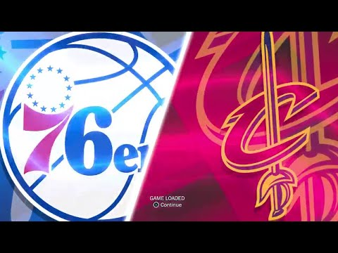 NBA 2K18 Full Gameplay: Philadelphia 76ers vs Cleveland Cavaliers