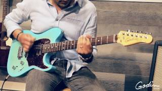 Loving the groove, loving the color and loving the guitar. The Session Custom 59 Coral Blue RN is one of our best yet!