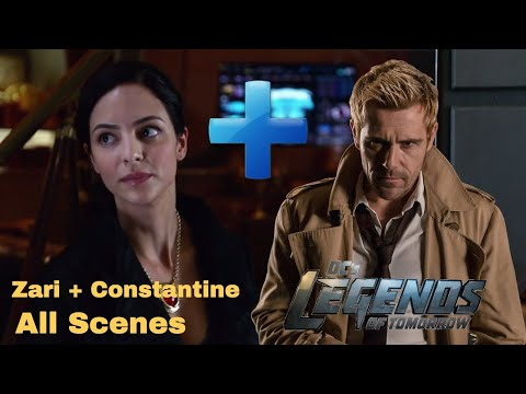 All Zari + Constantine Scenes - Legends of Tomorrow Season 5