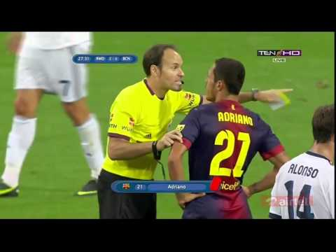 Real Madrid vs FC Barcalona full highlights Super cup 2012 – 2013