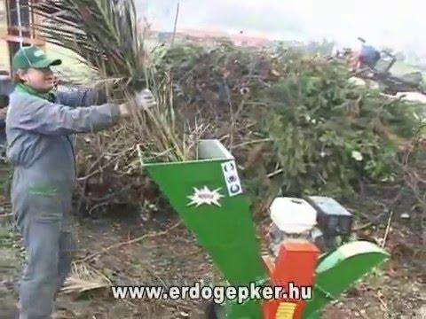 faapritó - http://www.erdogepker.hu Erdészeti és kertészeti gépek az Erdőgépker Kft.-től. Faaprító gép: A fakitermelés és tűzifakészítés során keletkező faágak ill. fah...