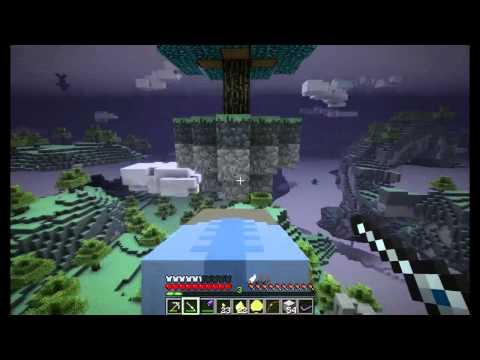 Путешествие в Небесах! [Minecraft] #12: Моа!  моа...