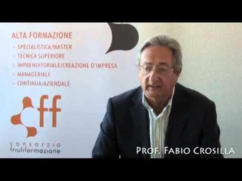 Tecnico Superiore per i rilevamenti territoriali informatizzati - Prof. Fabio Crosilla