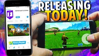 *FORTNITE MOBILE RELEASE* iOS/ANDROID - HOW TO GET A CODE in Fortnite: Battle Royale