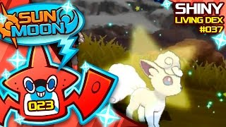 INSANELY EPIC SHINY ALOLAN VULPIX! OVER 1000 EGGS! Quest For Shiny Living Dex #037 | Shiny #23 by aDrive