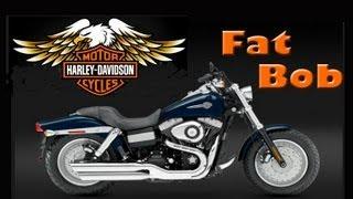 2. Harley Davidson Custom Dyna Fat Bob Review