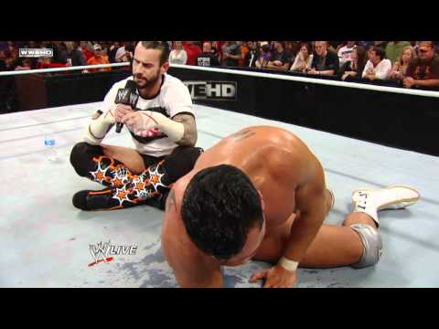 0 Alberto Del Rio Forced into Accepting CM Punks Survivor Series Challenge