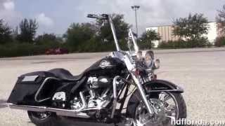10. Used 2009 Harley Davidson Custom Road King Bagger for sale