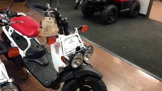9. 2018 Honda Ruckus Moped Scooter