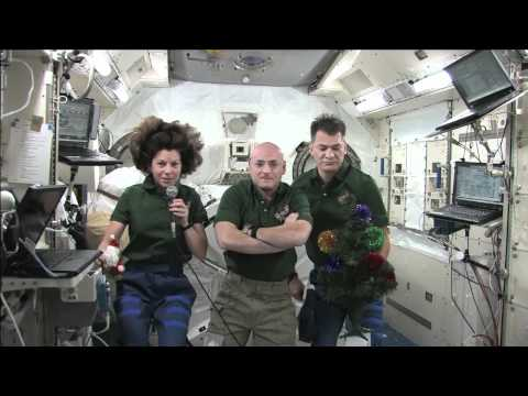 Holiday Greetings from space