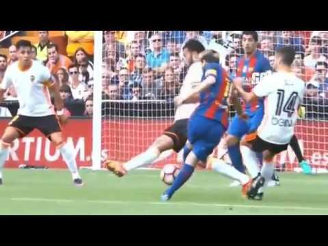Valencia vs FC Barcelona 2-3 All Goals & Highlights 22-10-2016