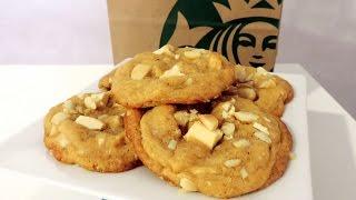 Cookies Starbucks Macadamia-Chocolat Blanc