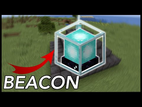 How To Activate A BEACON In Minecraft