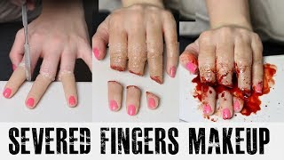 Severed Fingers Tutorial - YouTube